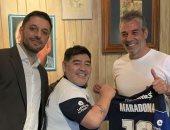 رسميا.. مارادونا مديرا فنيا لجيمناسيا لابلاتا الأرجنتيني