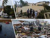 """صور.. إعصار """"دوريان"""" يخلف دمارا كبيرا فى جزر الباهاما.. مصرع 20 شخصا ووزير الصحة الأمريكى يتوقع ارتفاع العدد.. عشرات الأشخاص فى الجزر يلجؤون لموقع فيسبوك للبحث عن مفقودين لهم.. والساحل الأمريكى يتأهب"""