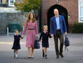 الأميرة شارلوت حفيدة ولى عهد بريطانيا تبدأ أول أيام دراستها