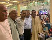 صور .. سيد الحفيظ يتواجد بالفيوم لحضور حفل زفاف عائلى