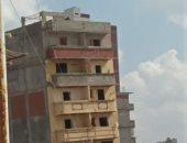 قارئ يحذر من انهيار عقار آيل للسقوط بشارع عبد الله بن مبارك فى الإسكندرية