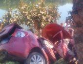 مصرع شخص وإصابة 6 آخرين في انقلاب سيارة بأسيوط