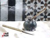 شاهد .. أدوات الكتابة الخاصة بـ أمراء الأسرة العلوية بمتحف قصر المنيل