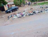 قارئ يشكو من انتشار القمامة بمنطقة المرور بمدينة السلام