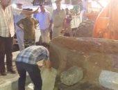 حملة لإزالة الإشغالات بشوارع ووسط مدينة كفر الشيخ