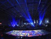 افتتاح مبهر لبطولة كأس العالم لناشئات الكرة الطائرة على أرض الاسماعيلية