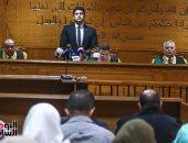 """تأجيل محاكمة 6 متهمين """"بحرق كنيسة كفر حكيم"""" لـ 14 يناير"""