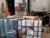 صور .. ضبط مصنع منظفات بدون ترخيص بالإسكندرية