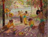 """دار سوثبى تعرض لوحة """"النساء على الشرفة"""" بـ 7 ملايين دولار"""