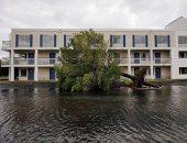 عشرات المنازل تختفى تحت إعصار دوريان بكارولينا الشمالية
