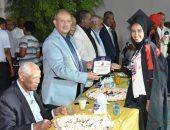 تكريم المتفوقين من طلبة الدراسات العليا والجامعات وحفظة القرآن بأسوان