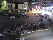 استمرار معاناة سكان الشارع الجديد بشبرا الخيمة من تراكم القمامة