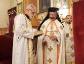 صور.. بطريرك الكاثوليك يترأس قداس عيد ميلاد العذراء بكنيسة مصر الجديدة