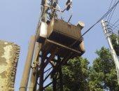 صور ..تهالك محول كهرباء يهدد أهالى قرية بالأقصر