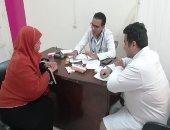 الشرطة فى خدمة المرضى.. قوافل طبية لعلاج 1050 مواطنا فى بنى سويف