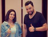 """صور وفيديو.. كواليس أغنية """"جمالو"""" لـ ديانا حداد باللهجة المصرية بتوقيع مدين"""