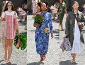 الدنيا ربيع.. عرض أزياء Kate Spade بأسبوع الموضة بنيويورك وسط الحدائق