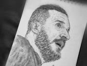 قارئ يشارك بلوحات فنية لـ محمد صلاح وعلى معلول وأحمد حلمى عبر صحافة المواطن