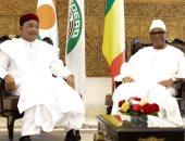 مباحثات ثنائية بين رئيسى النيجر ومالى فى باماكو يتصدرها ملف الأمن