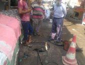 شركة مياه القناة : الإنتهاء من تطهير شبكات الإسماعيلية وبورسعيد والسويس