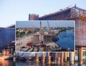 وزير النقل يوجه بإنهاء تنفيذ محور سمالوط أعلى النيل بالمنيا قبل نهاية يونيو