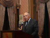 وزير الخارجية يلقى كلمة خلال إطلاق المبادرة الإقليمية للمعرفة والابتكار