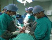 استئصال ورم يزن 7 كيلوجرامات من سيدة خمسينية بمستشفى قنا الجامعى