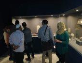 صور.. بعد الأسبوع الأول من افتتاحه.. طلاب الغربية يتوافدون على متحف طنطا