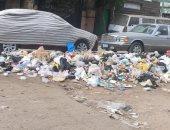 شكوى من تراكم القمامة بشارع أحمد إدريس بحدائق القبة وانتشار الرائحة الكريهة