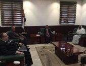 وزير الخارجية يبحث مع رئيس وزراء السودان مفاوضات سد النهضة