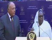 وزيرة خارجية السودان: العلاقات مع مصر تاريخية ونأمل فى مزيد من التعاون