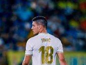 صدمة فى ريال مدريد بسبب عقم يوفيتش التهديفى