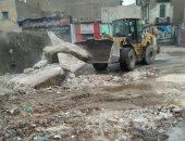 نقل مقلب قمامة من جوار مسجد السيدة زينب حفاظا على المظهر الحضارى