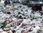 قارئ من كفر طهرمس بالجيزة يشكو من انتشار القمامة بشارع الملكة نازلى