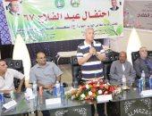 صور.. محافظ المنوفية فى احتفال عيد الفلاح الـ67: المزارع المصرى عصب التنمية