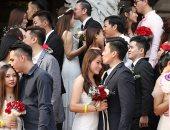 فى اليوم التاسع من الشهر التاسع.. زواج جماعى لـ99 زوجا فى ماليزيا