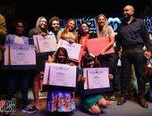 صور.. حفل توزيع شهادات وجوائز التميز بمهرجان القومى للمسرح