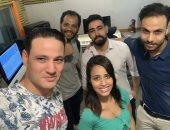 صور..كواليس أغنية جديدة لـ رنا سماحة بتوقيع إبراهيم دردير