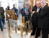 زاهى حواس يفتتح متحف النماذج الآثرية للملك توت عنخ آمون بالبرازيل (صور)
