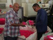 ضبط 11 طن بلاستيك مجروش فى مصنع بدون ترخيص بالإسكندرية