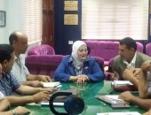 """صور.. """"تعليم كفر الشيخ"""" تناقش الاستعدادات للعام الدراسى الجديد"""