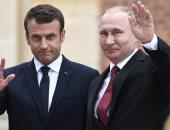 بوتين فى برقية تعزية لماكرون: مكافحة الإرهاب تتطلب توحيد الجهود