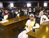 """جامعة القاهرة تكرم """"التضامن"""" لدعمها برامج توعية الطلاب من أضرار  المخدرات"""