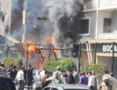 إخماد حريق داخل جراج سيارات فى أرض اللواء دون إصابات
