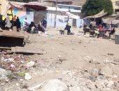 أهالى منطقة العياط يطالبون بالانتهاء من تطوير مزلقان.. صور