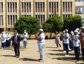 صور.. جامعة أسوان تنظم معسكرا طلابيا بقرية المنصورية لتطوير العشوائيات