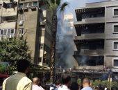 إخماد حريق محدود داخل مطعم بميدان التحرير دون إصابات