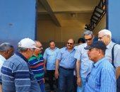 رئيس مياه القناة يتفقد إنتهاء أعمال محطات مياه الشرب بمدينة المستقبل