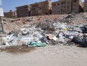 """تجمعات للقمامة بشارع الجيش والخزان.. شكوى """"حازم"""" من حدائق الأهرام"""