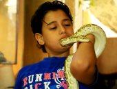 موكلى مصر.. فرعون صغير يعيش وسط 500 حيوان